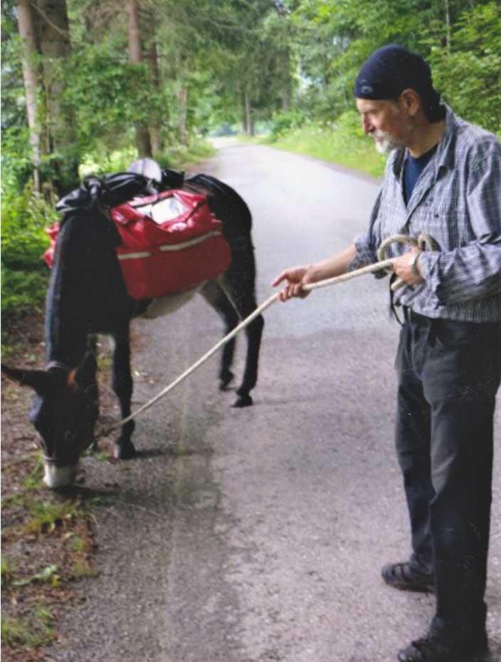 Tomas mit Esel